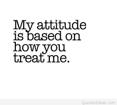treating attitude quote message