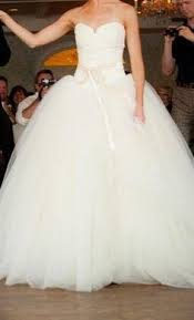 vera wang bridal vera wang wars size 4 used wedding dress nearly newlywed