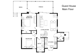 house plans with guest house 23 innovative guest house plans homedessign com