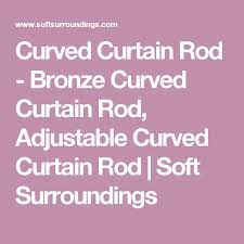 best 25 curved curtain rod ideas that you will like on pinterest