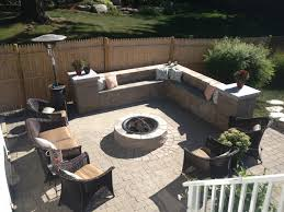 Firepit Area Pit Sitting Area Newbury Ma Contemporary Patio Boston