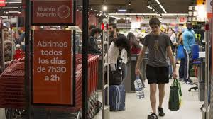 si e de carrefour shopping in spain why more spaniards are now shopping around the