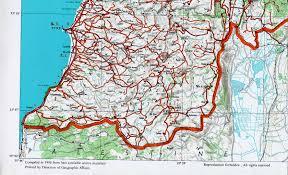Lebanon World Map by Aub Maps Of Lebanon