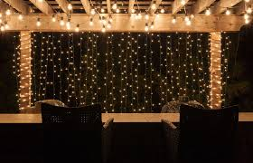 Patio Lights String Ideas Best Backyard Lighting String Lights Yard Envy