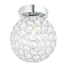 crystal bathroom ceiling light diy