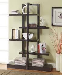 Wood Bookshelves Designs by Excellent 4 Tier Custom Wooden Book Shelves Design For Home Cool