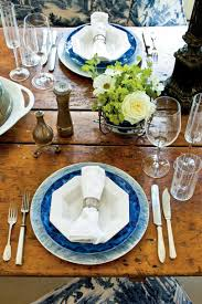 Black Blue And Silver Table Settings How To Set A Stunning Table Southern Living
