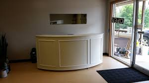 Small Salon Reception Desk Diy Reception Desk Roselawnlutheran