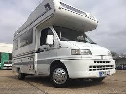 fiat ducato motorhome campervan 4 birth diesel 54 000 miles in