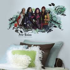 new disney descendants giant wall decals large stickers kids