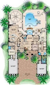 mediterranean house floor plans cool mediterranean house plans homeca