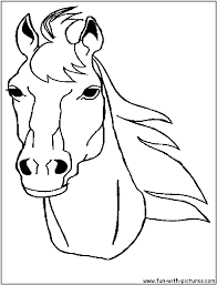 horse 88 animals u2013 printable coloring pages
