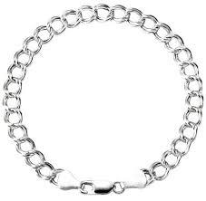 charm bracelet chain silver images Charm bracelets chains elephant chain link bracelet male punk gold jpg