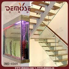 Modern Stairs Design Indoor China Modern Staircase Design Indoor Glass Stairs Dms 4009
