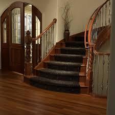 install oak carpet runner on wooden oak stairs with carpet