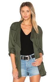 cupcakes and cashmere belinda jacket in army revolve