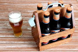 Easy Woodworking Projects For Gifts by Diy Beer Tote Free Plans Rogue Engineer