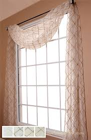 Sheer Swag Curtains Valances Liona Sheer Scarf Swag Window Topper Available In 4 Colors