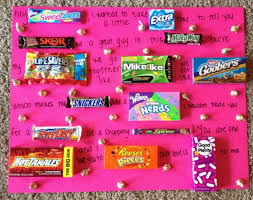 cheap valentines gifts for him 12 best with candy images on boyfriend stuff
