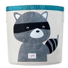 aufbewahrungsbox kinderzimmer aufbewahrungsbox waschbär 3sprouts