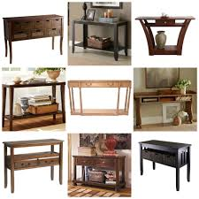 Rustic Hallway Table Large Consoles Oversized Console Table Ideas For Decoration In