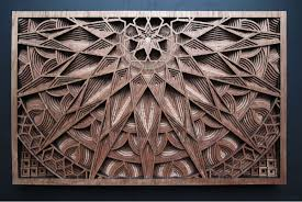 laser cut wood of gabriel schama design milk