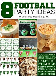 Super Bowl Decorating Ideas 8 Football Party Ideas Here Comes The Sun