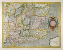 Map Of The South Map Of The South East Corner Of England Gerardus Mercator