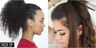 Easy On The Go Hairstyles by 11 Easy Ponytail Hairstyles Best Ideas For Ponytail Styles