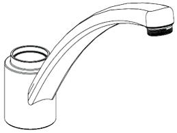 moen kitchen faucet single handle adaptor repair kit lever leaking