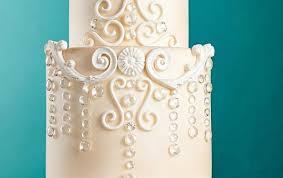 Chandelier Cake Stencil Chandelier Wedding Cakes Cake Geek Magazine