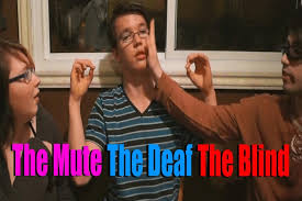 How Do Deaf Blind Communicate A Conversation Between A Deaf A Mute And A Blind Guy Youtube