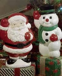 Light Up Snowman Outdoor Illuminated Santa Claus Christmas Decorations General Foam