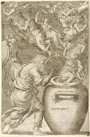 il vaso di pandora ste epimeteo apre il vaso di pandora da cui escono le virt