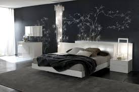 black white and silver bedroom ideas of dark walls bedrooms 736