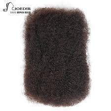 remy human hair extensions joedir remy human hair extensions afro bulk 1 pc