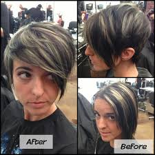 cut before dye hair pixie with highlights 3 exactly the hairstyle and color i was