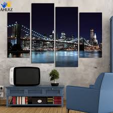 4 piece free shipping sell modern wall painting new york