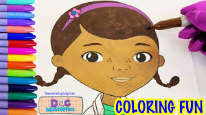 doc mcstuffins coloring fun coloring activity kids