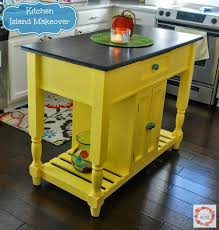 a glimpse inside kitchen island makeover