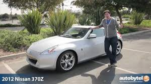 nissan sports car 370z price 2012 nissan 370z test drive u0026 car review youtube