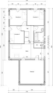 plan de maison gratuit 3 chambres plan maison gratuit plain pied 3 chambres evtod
