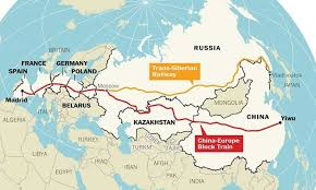 New York Central Railroad Map by Map The World U0027s Longest Train Journey Now Begins In China The