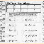 did you hear about math worksheet did you hear about math