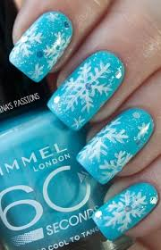 best 25 snowflake nail art ideas on pinterest snowflake nails