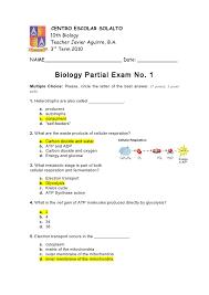 answer key quiz no 1 3rd mp 2010