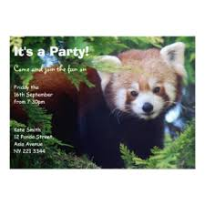 panda invitations u0026 announcements zazzle