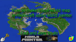 Earth World Map by How To Make A Real World Minecraft Map Youtube