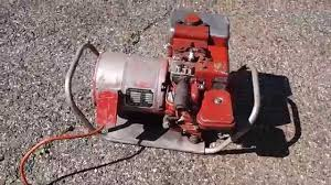 snapon generac 1500w generator small briggs 3hp flathead youtube
