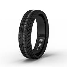 black titanium rings men s black titanium wedding band engagement ring edges with black